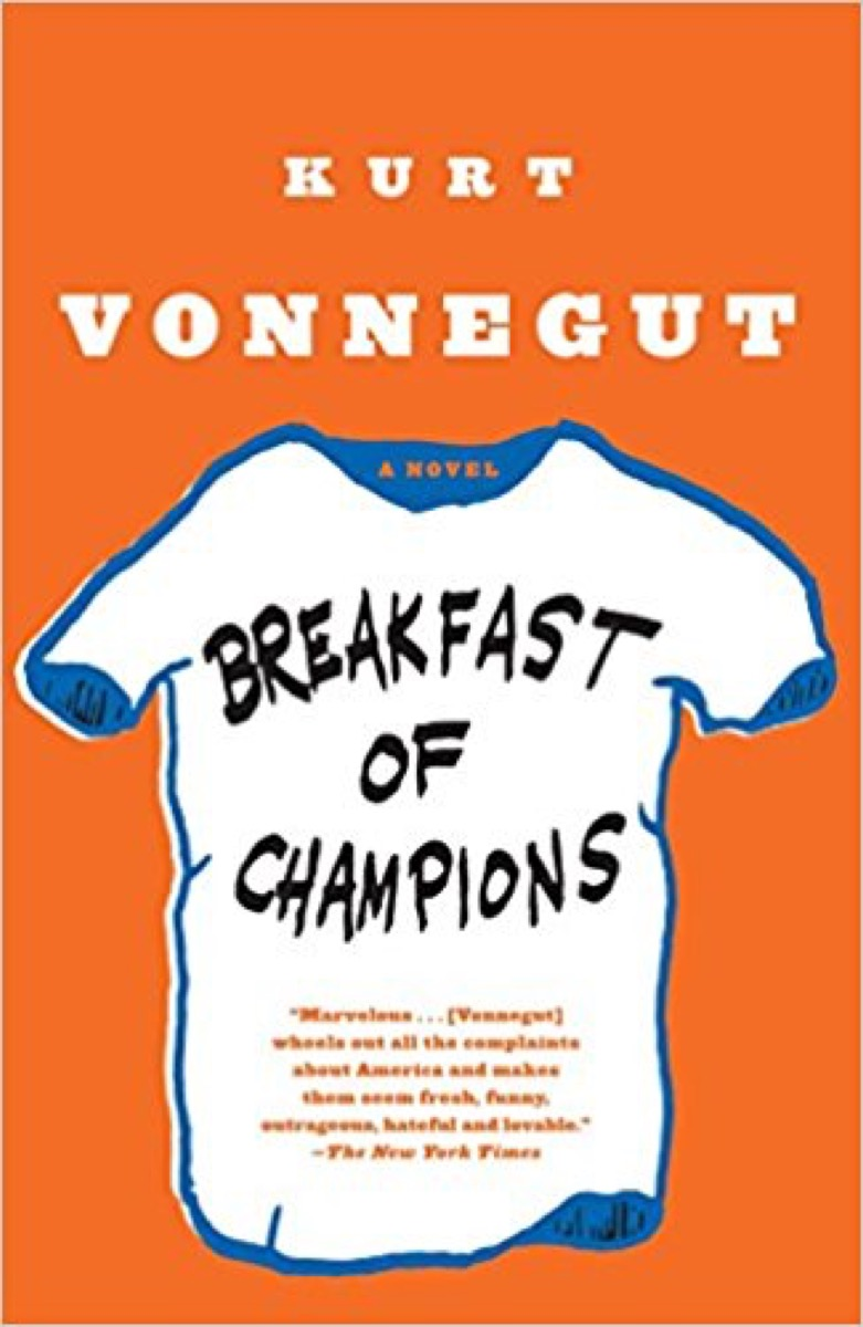breakfast of champions 40 funny books