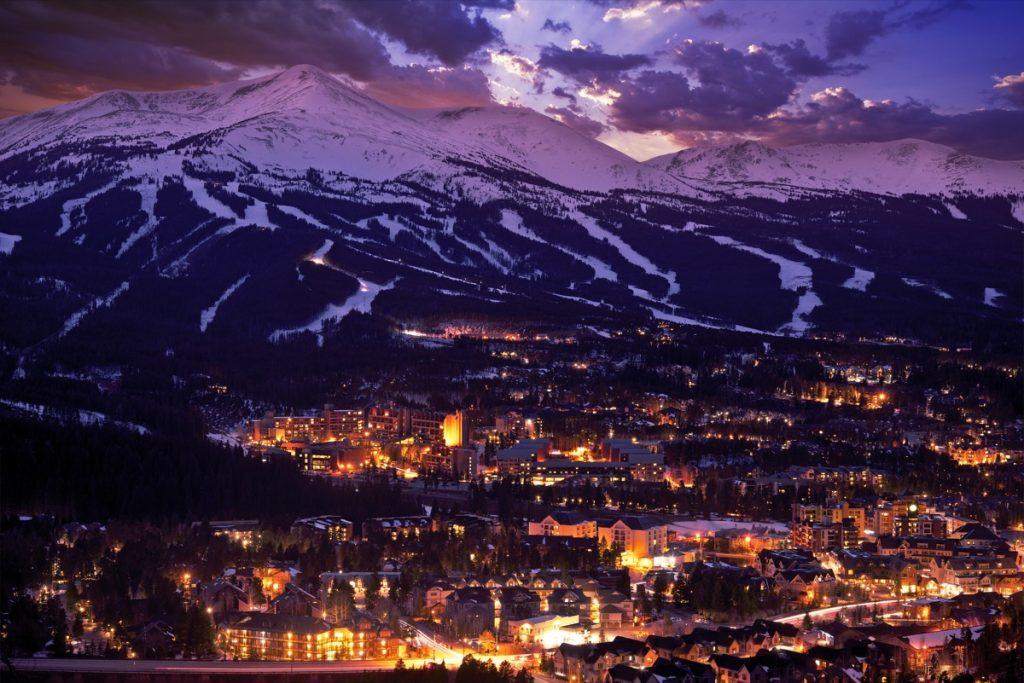 Breckenridge, Colorado White Christmas in America