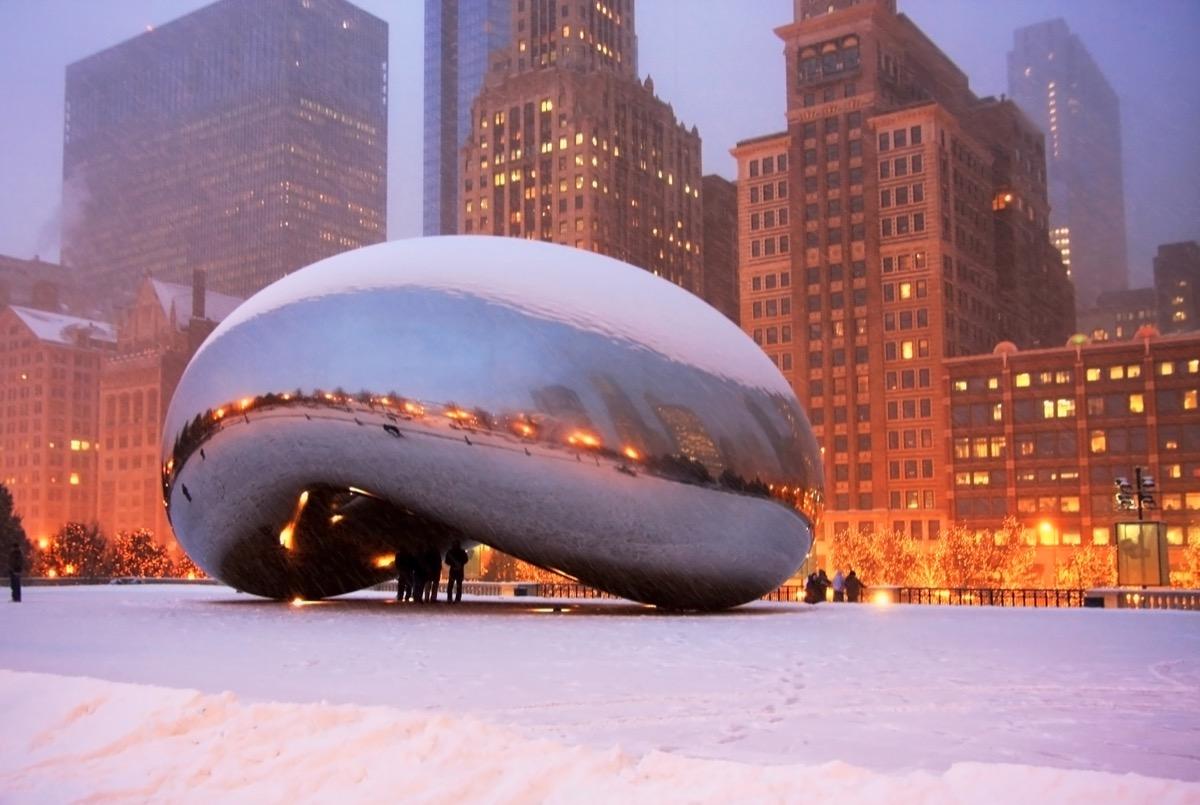 Chicago, Illinois White Christmas in America