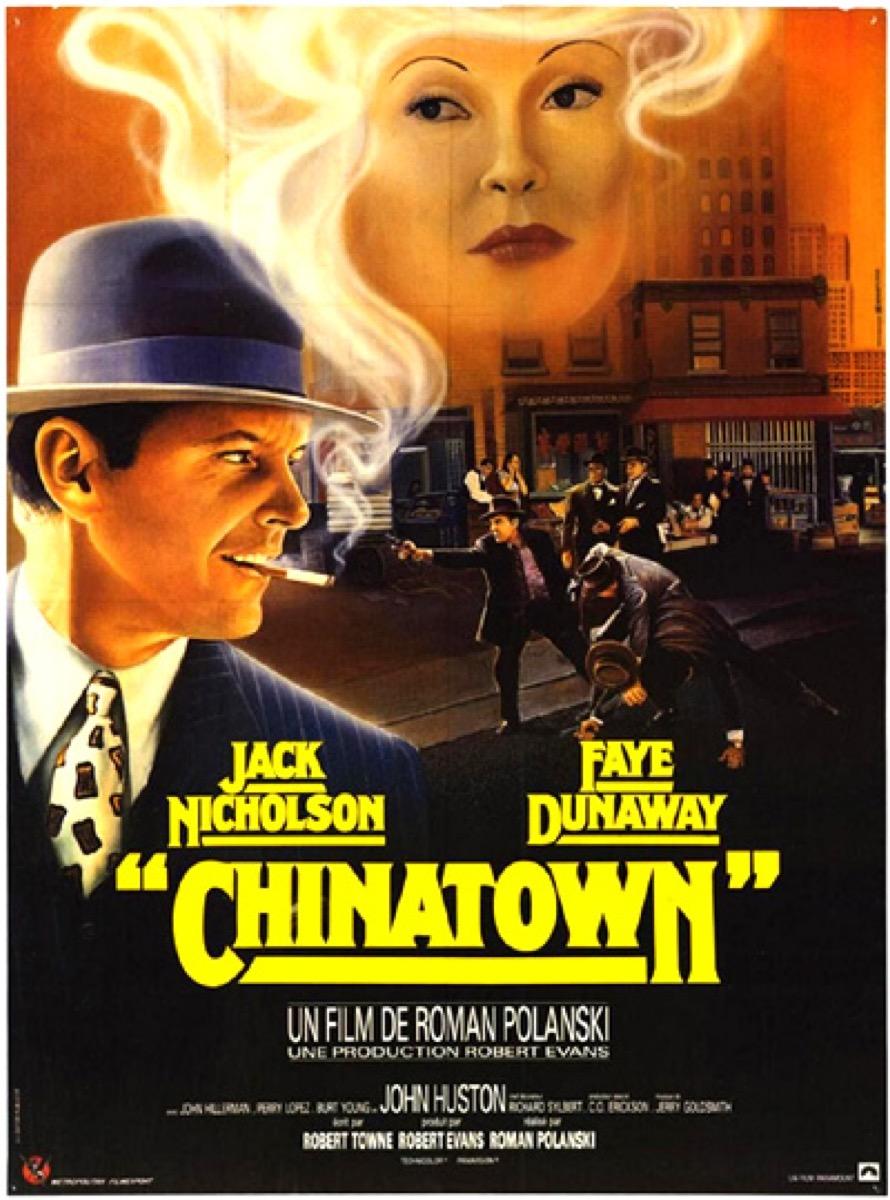 Chinatown movie poster {happy alternate movie endings}