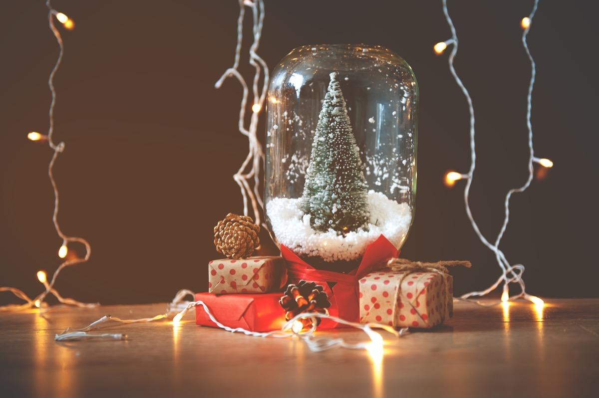 mason jar christmas trees