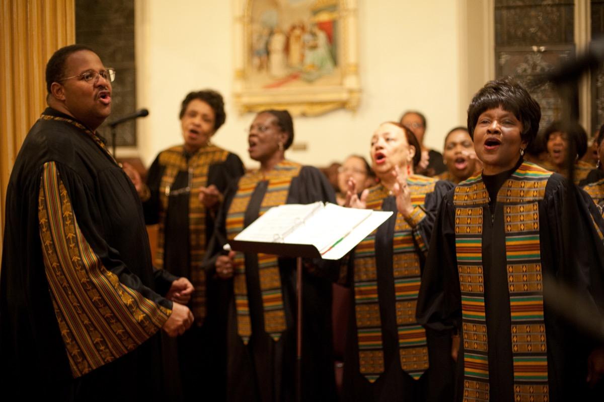 church choir how to live to 100
