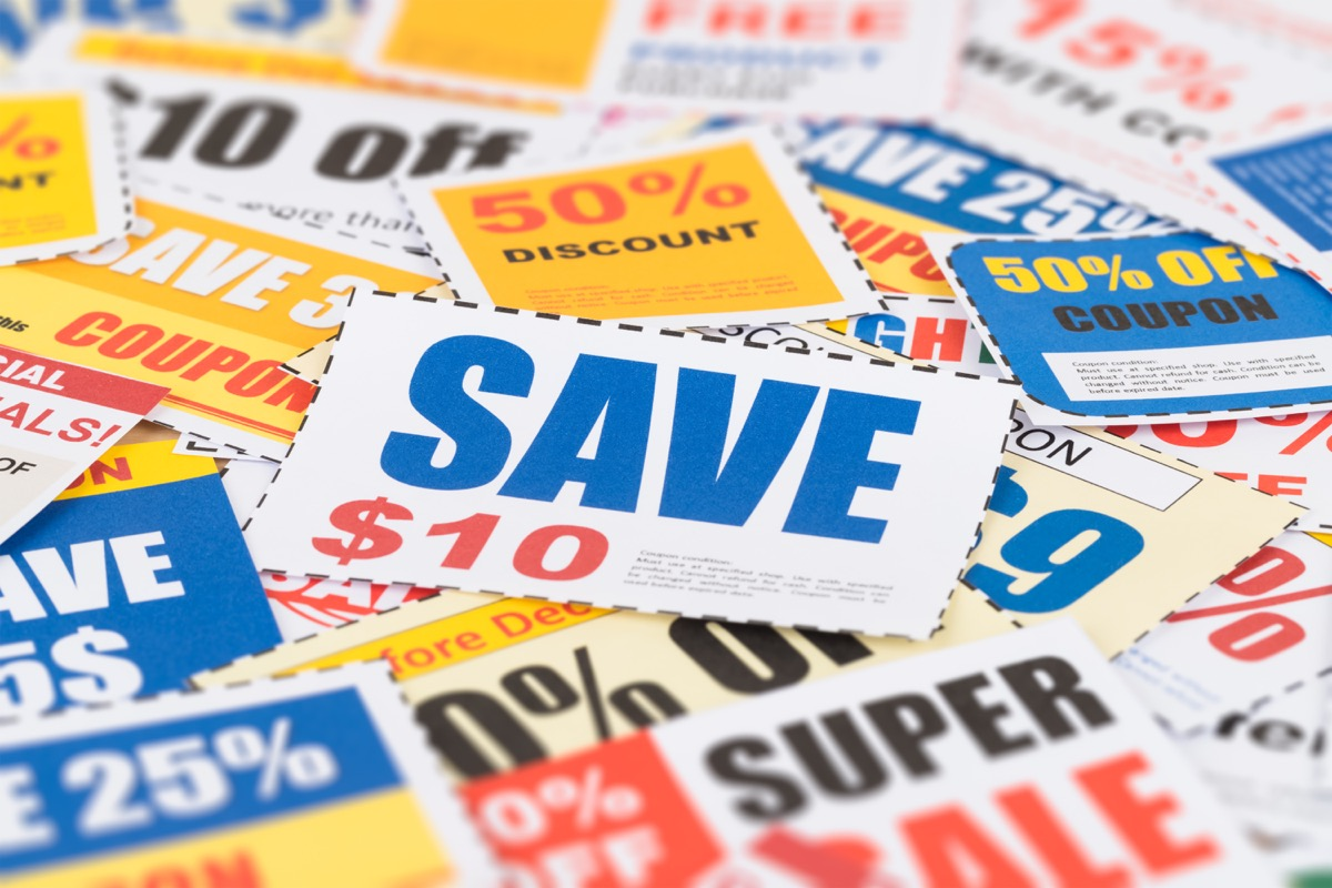 Pile of Coupons {Target Black Friday}