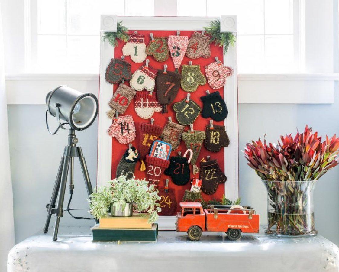 advent calendar diy christmas decorations