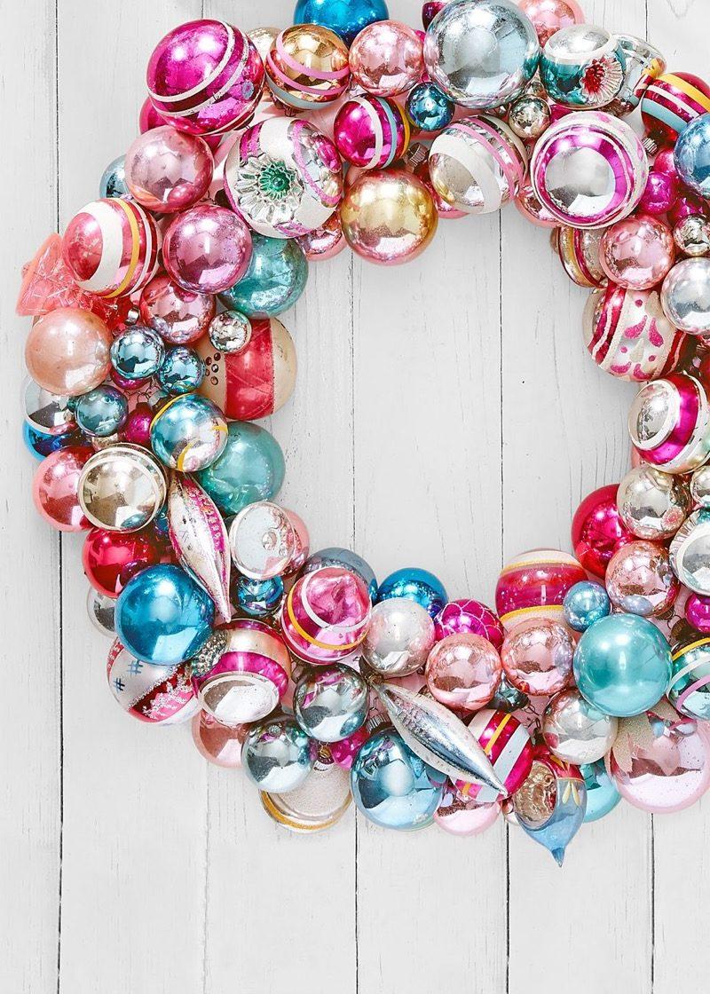 holiday wreath diy christmas decorations