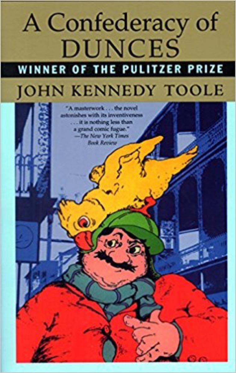 a confederacy of dunces 40 funny books