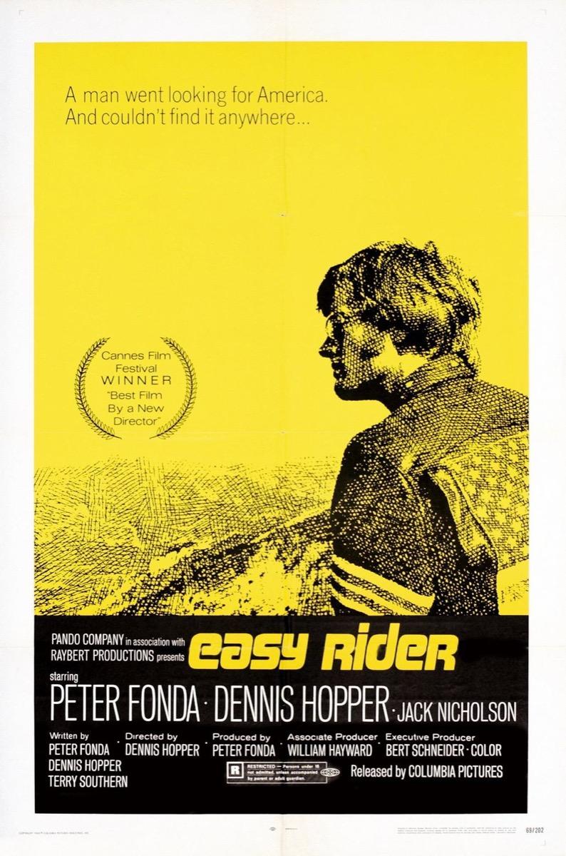 Easy Rider Movie Poster {Happy Alternate Movie Ending}