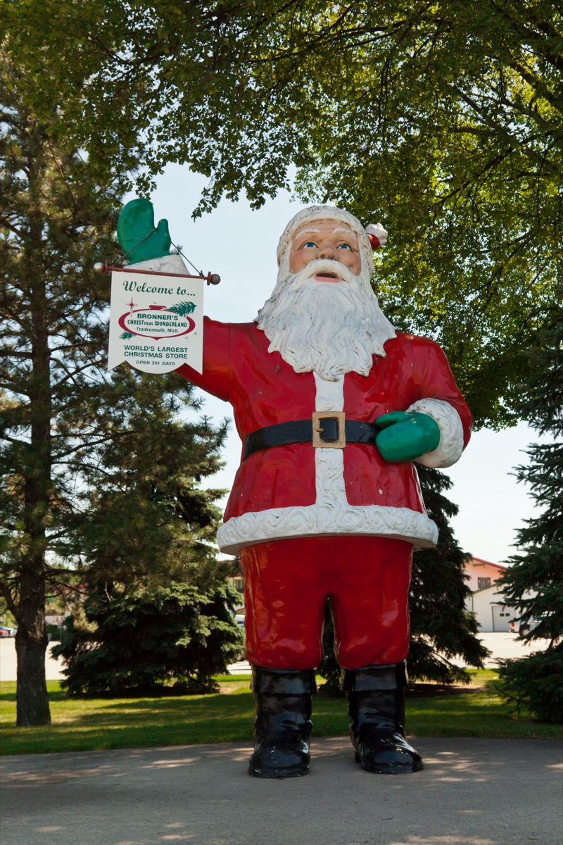 Frankenmuth, Michigan Christmas towns in America