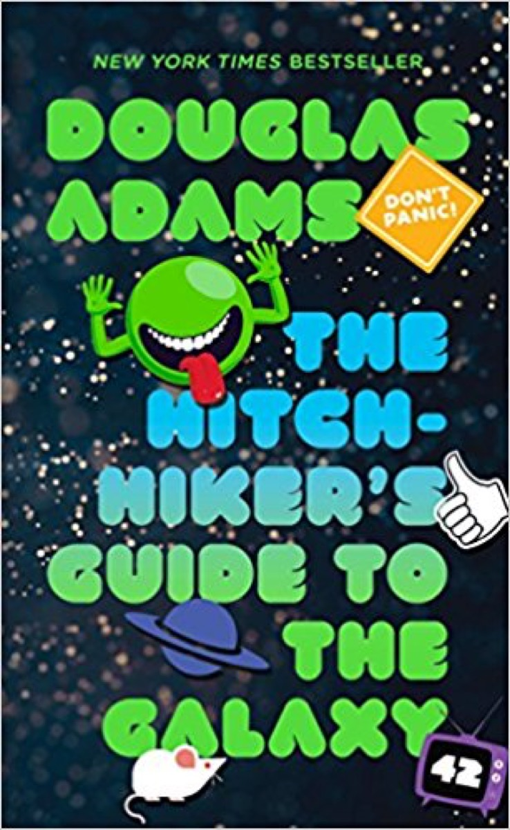 the hitchhiker's guide to the galaxy 40 funny books