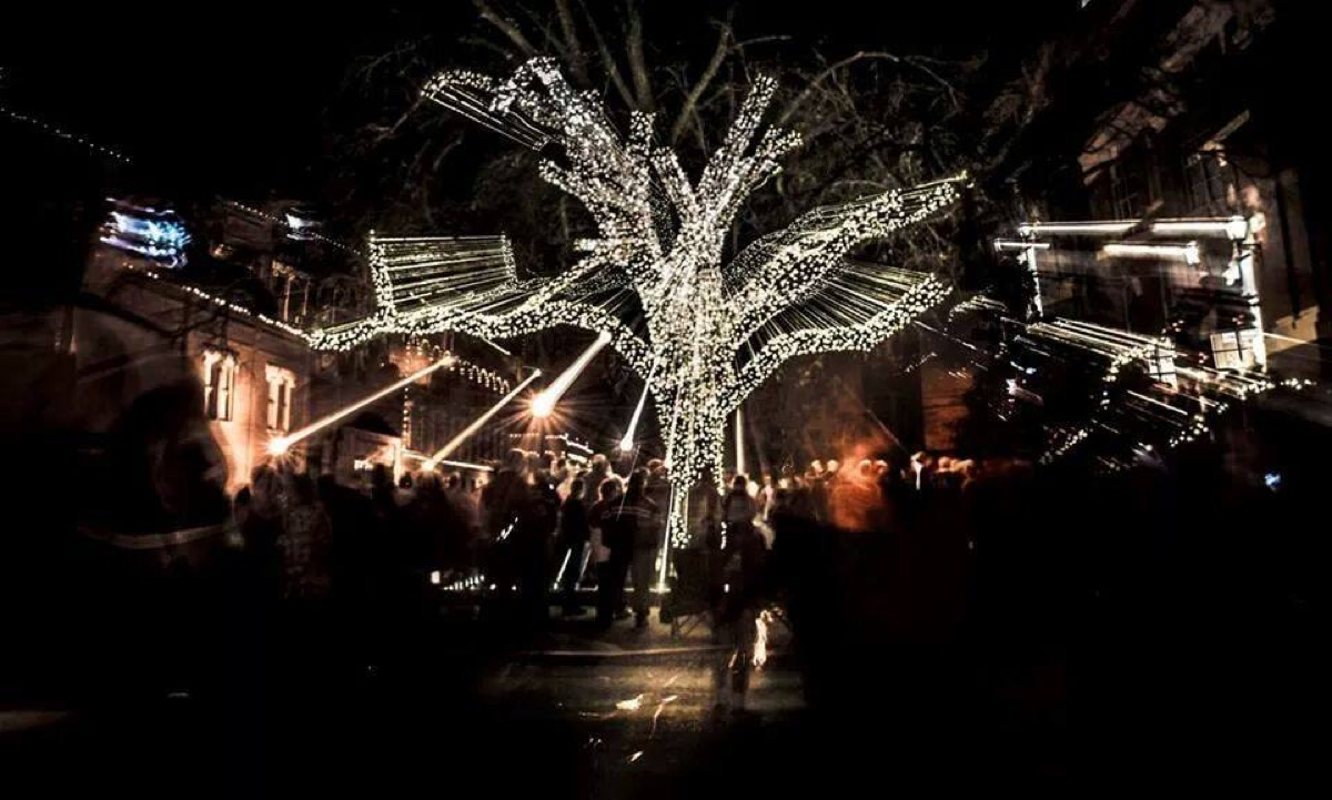 Guthrie Oklahoma State Christmas Tree