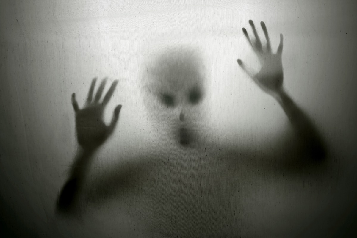 Creepy Spirit Thing from the Harbinger Experiment {Scary Urban Legends}