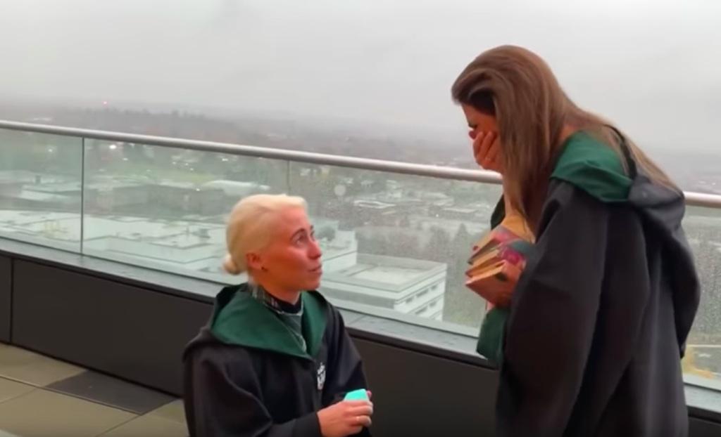 harry potter proposal