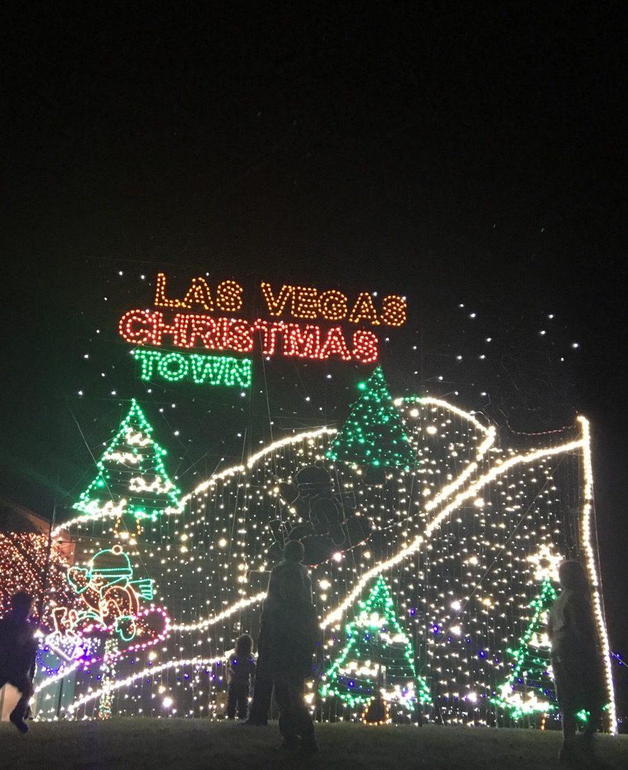 Las Vegas, Nevada Christmas towns in America