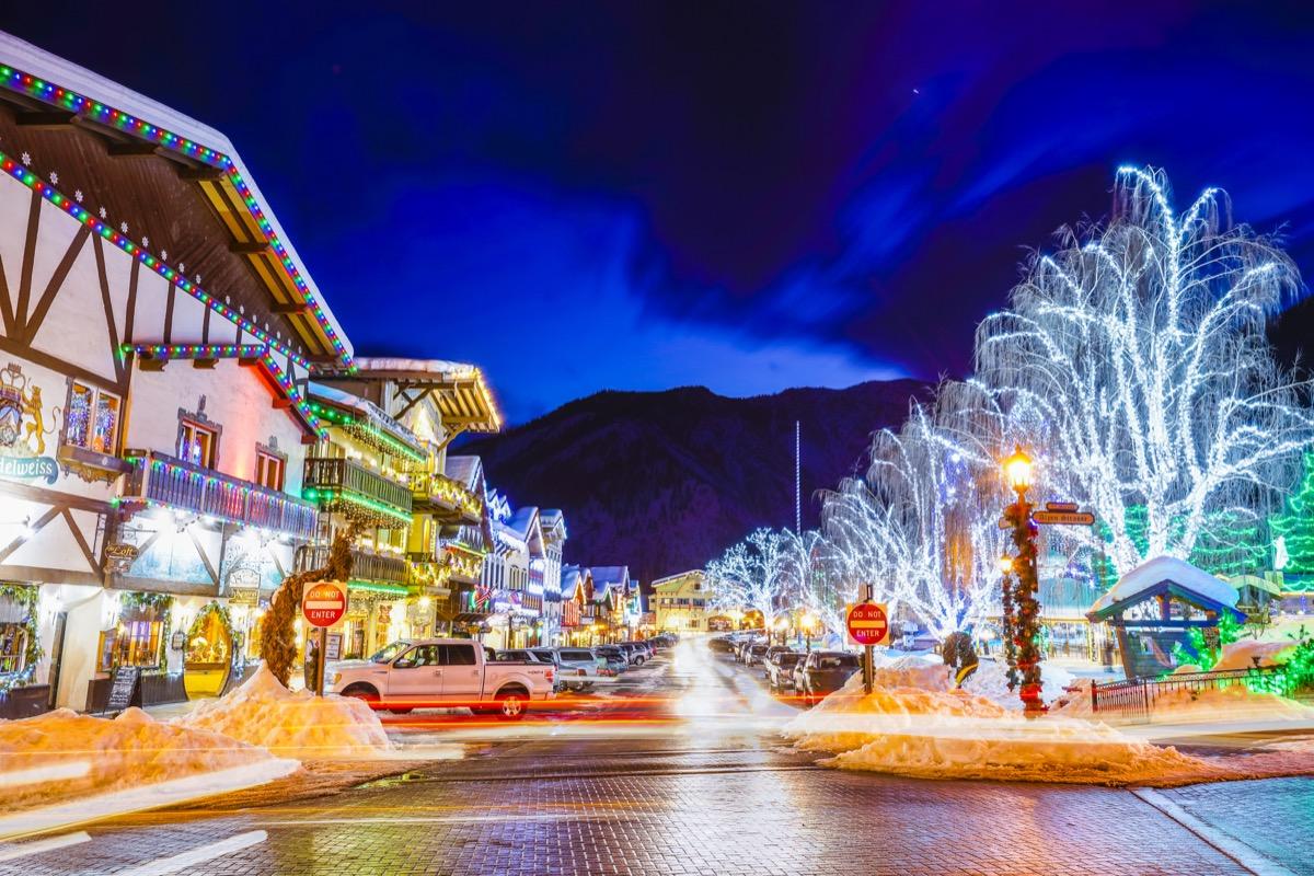 Leavenworth, Washington Christmas towns in America