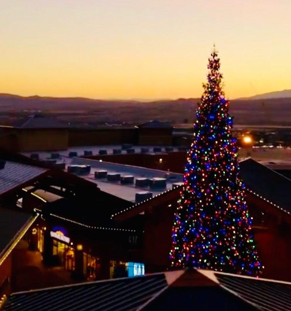 Lehi Utah State Christmas Tree