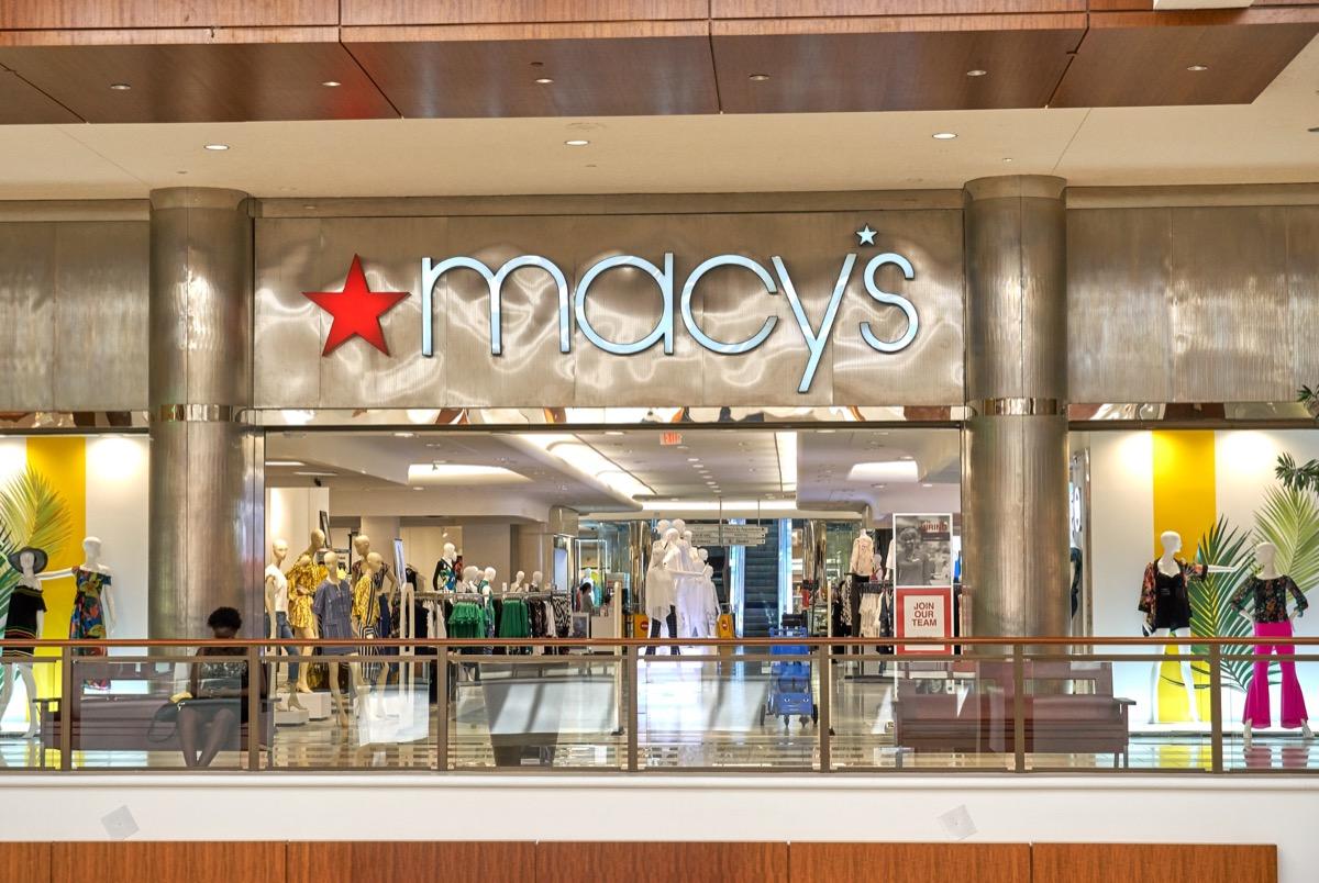 Macy's Storefront {Save Money on Kitchen Appliances}