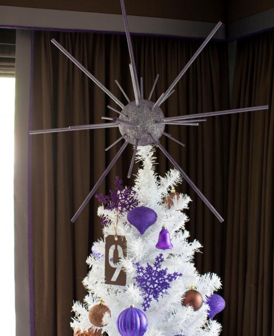 Mod tree topper diy christmas decorations