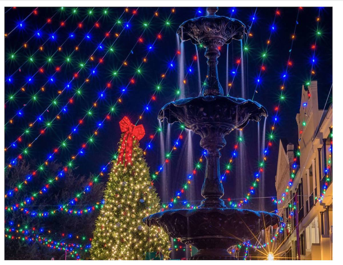 Natchitoches, Louisiana Christmas towns in America