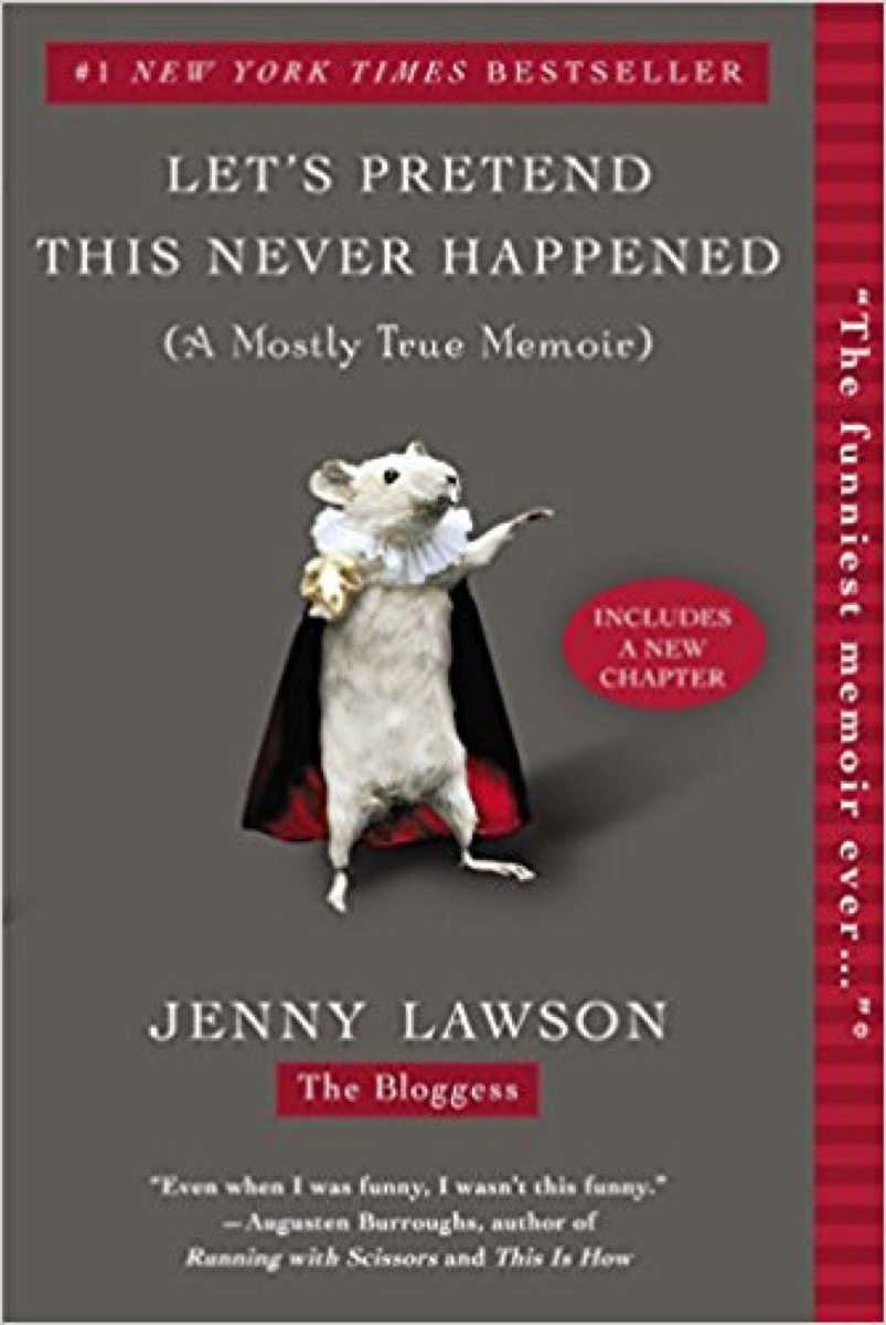 let's pretend this never happened 40 funny books