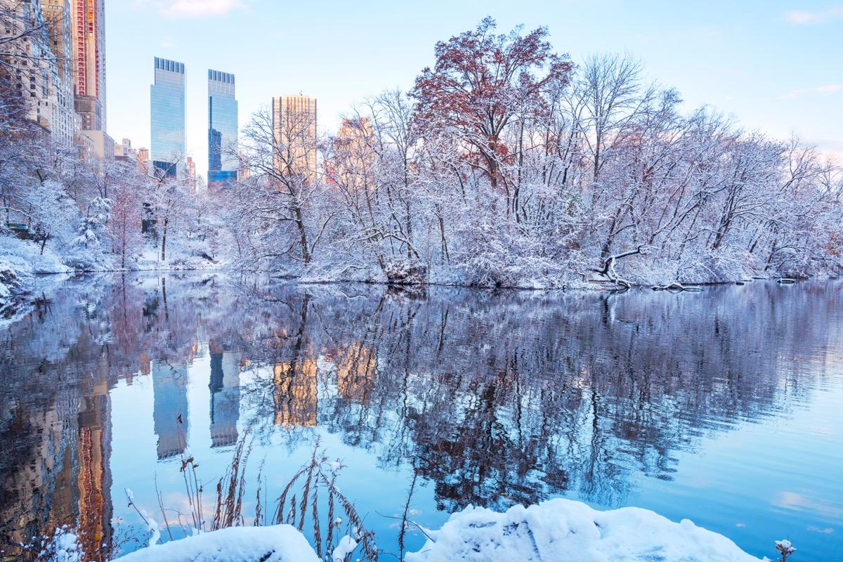 New York City Romantic Christmas Towns