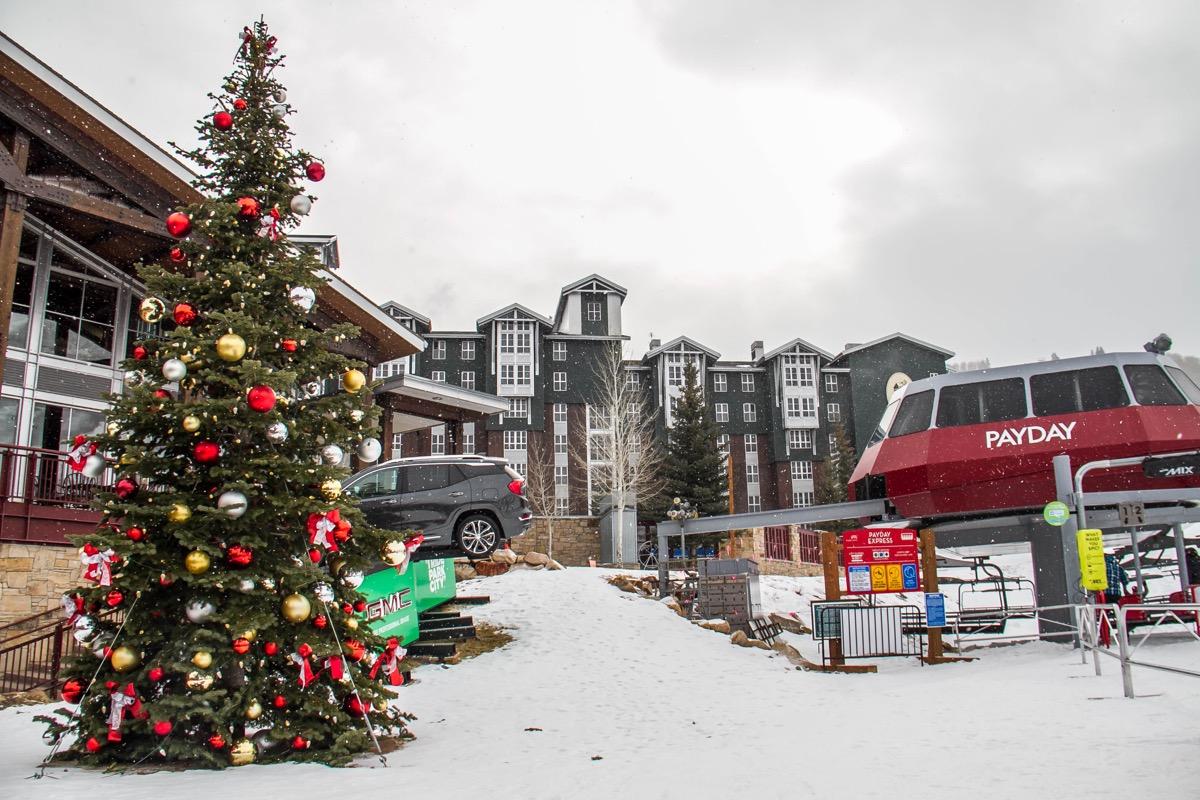 Park City, Utah christmas towns
