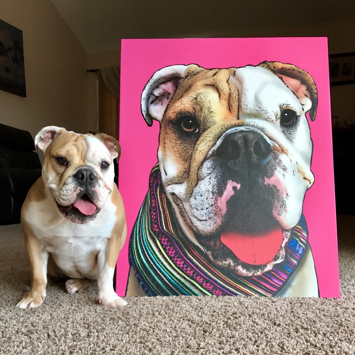 Pop Your Pup Print {Christmas Gift Ideas}