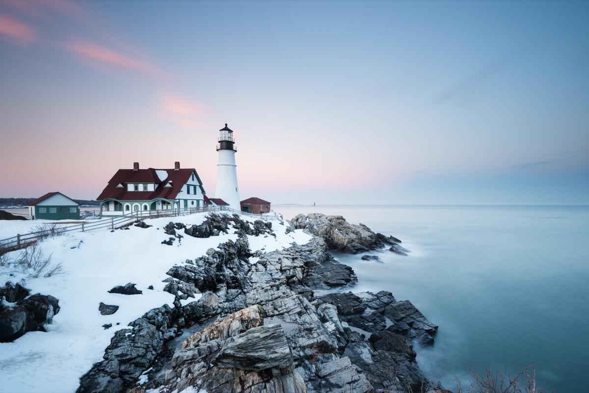 Portland, Maine White Christmas in America