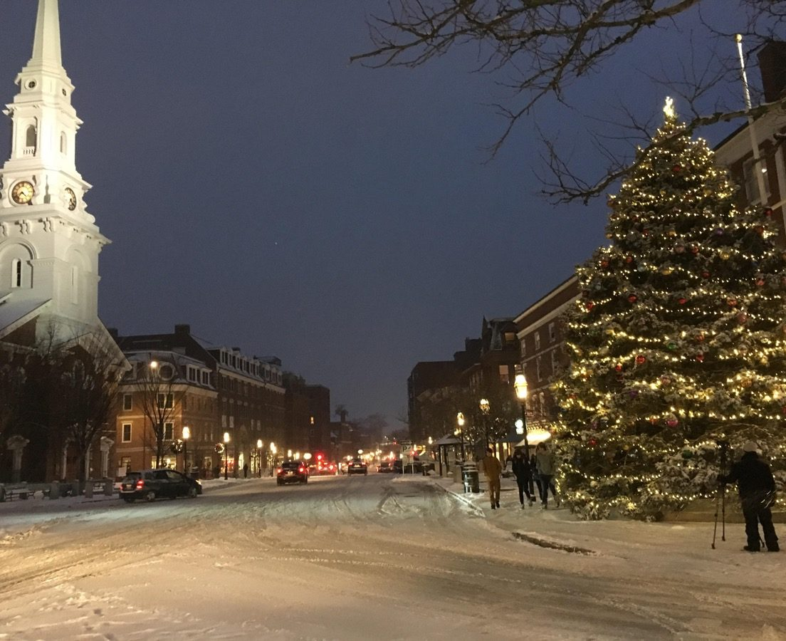 Portsmouth New Hampshire State Christmas Tree