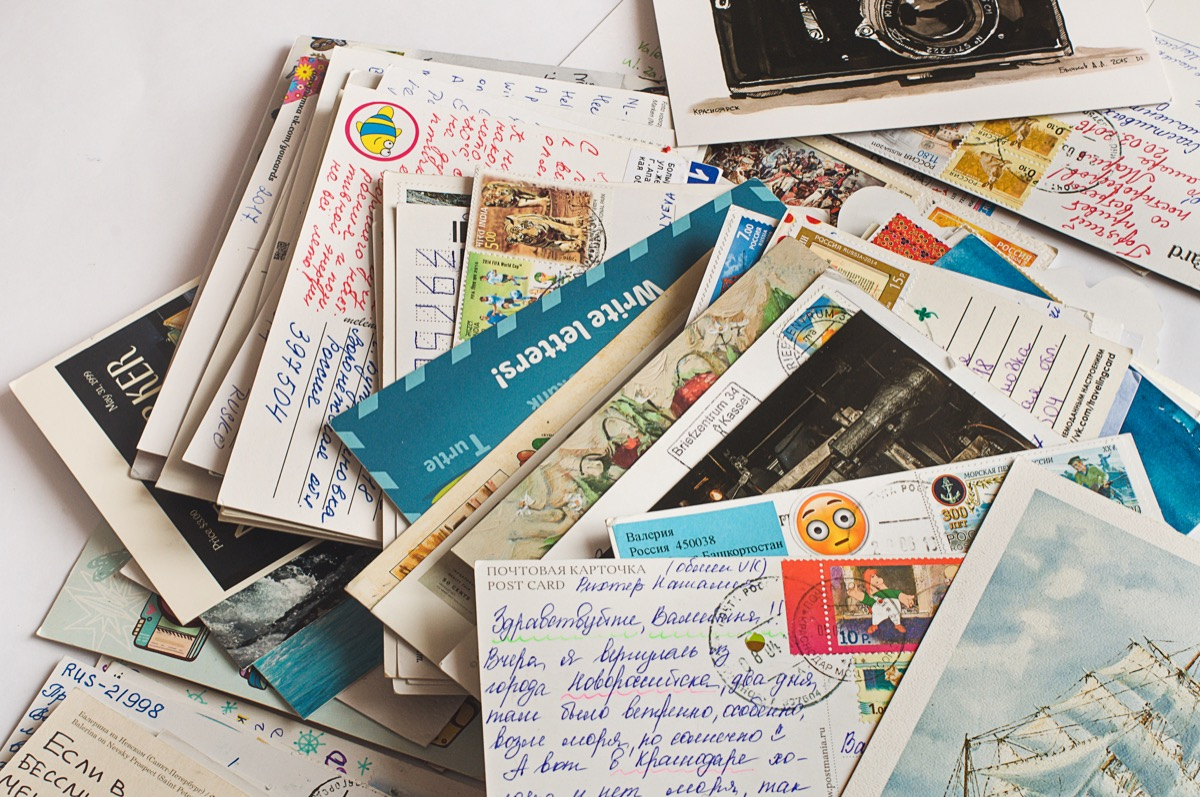postcards valuable things