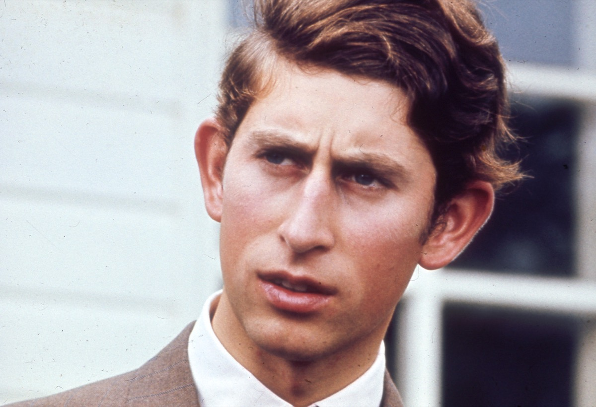 Prince Charles, son of Prince Philip, who's had many controversial moments