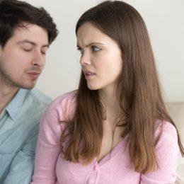 Woman Denies a Kiss {Body Language Cues}