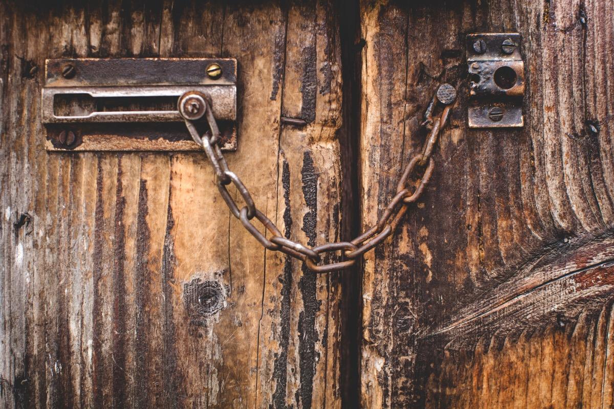 Old Rusty Door {Scary Urban Legends}