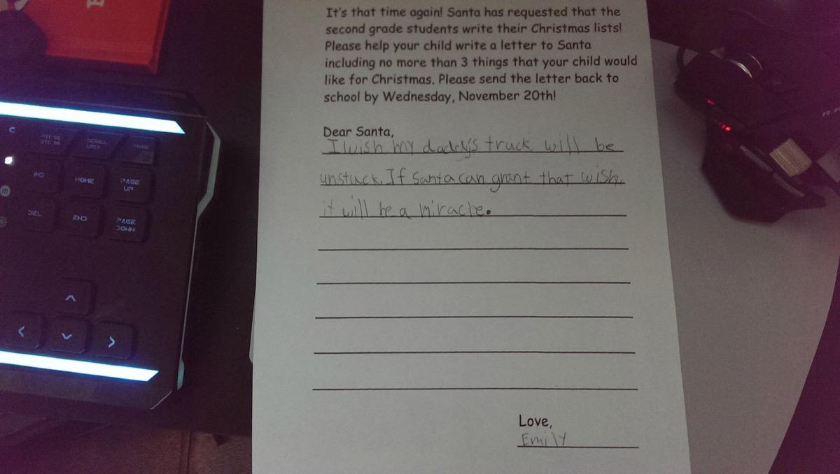 hilarious santa letters