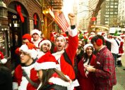santacon is by far one of the worst holiday trends