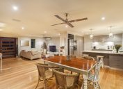 Sleek Ceiling Fan celebrity home design tricks
