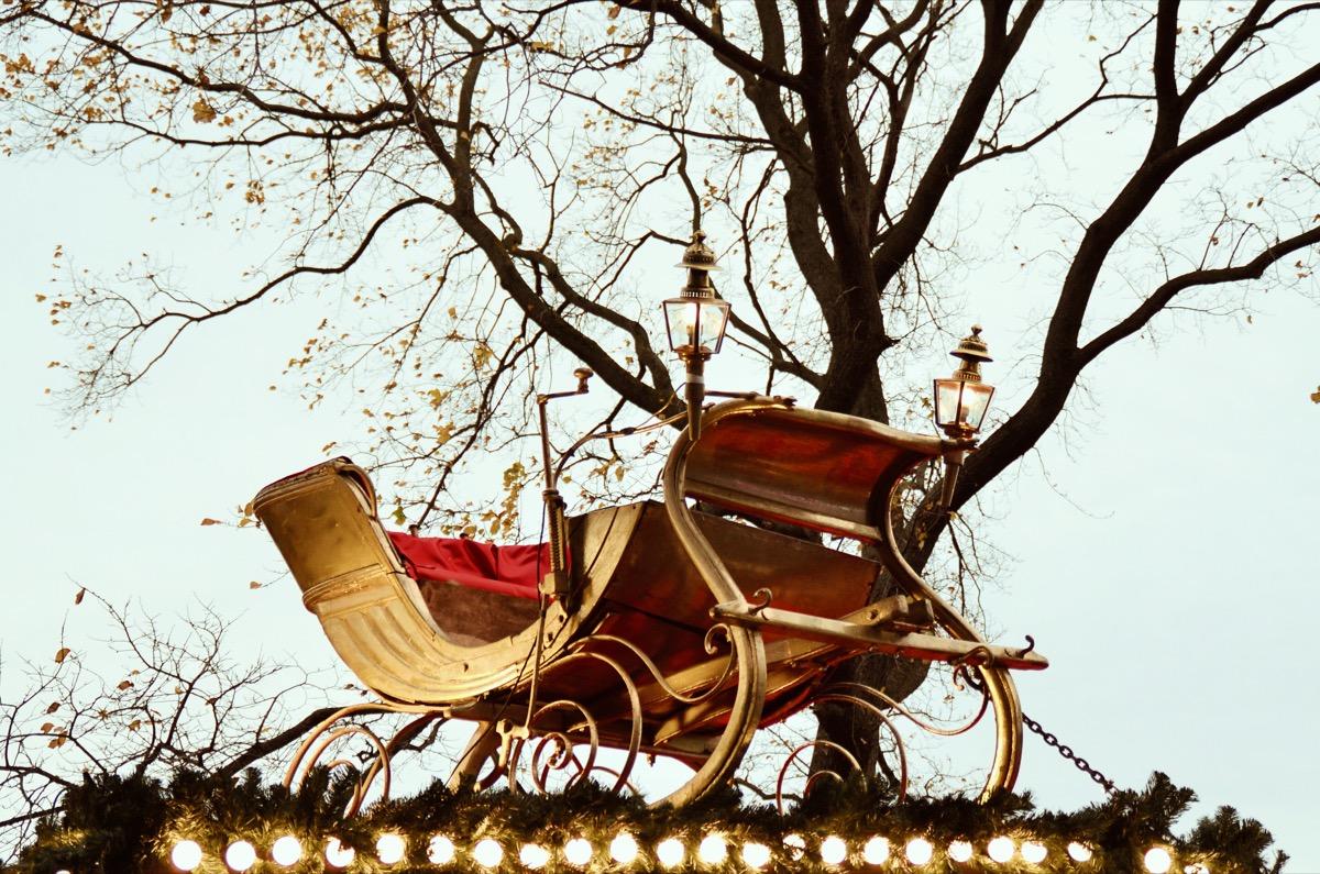 sleigh santa facts