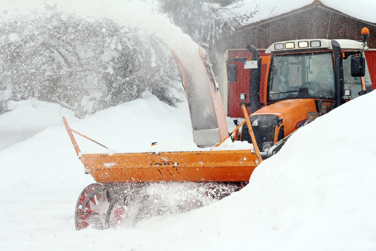 ice and snow removal