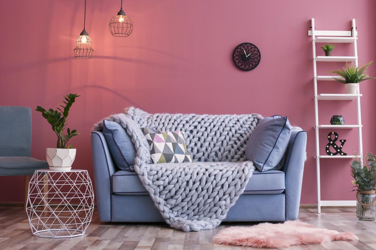 Statement Furniture in Small Apartment celebrity home design tricks