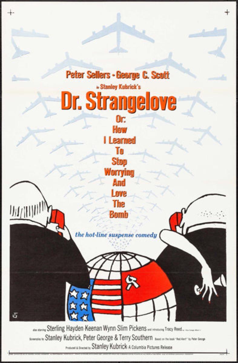 Dr. Strangelove film {happy alternate movie endings}