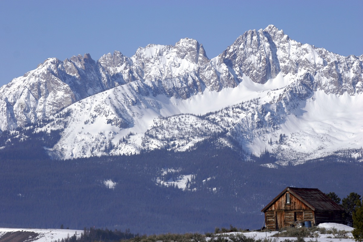 Sun Valley, Idaho White Christmas in America
