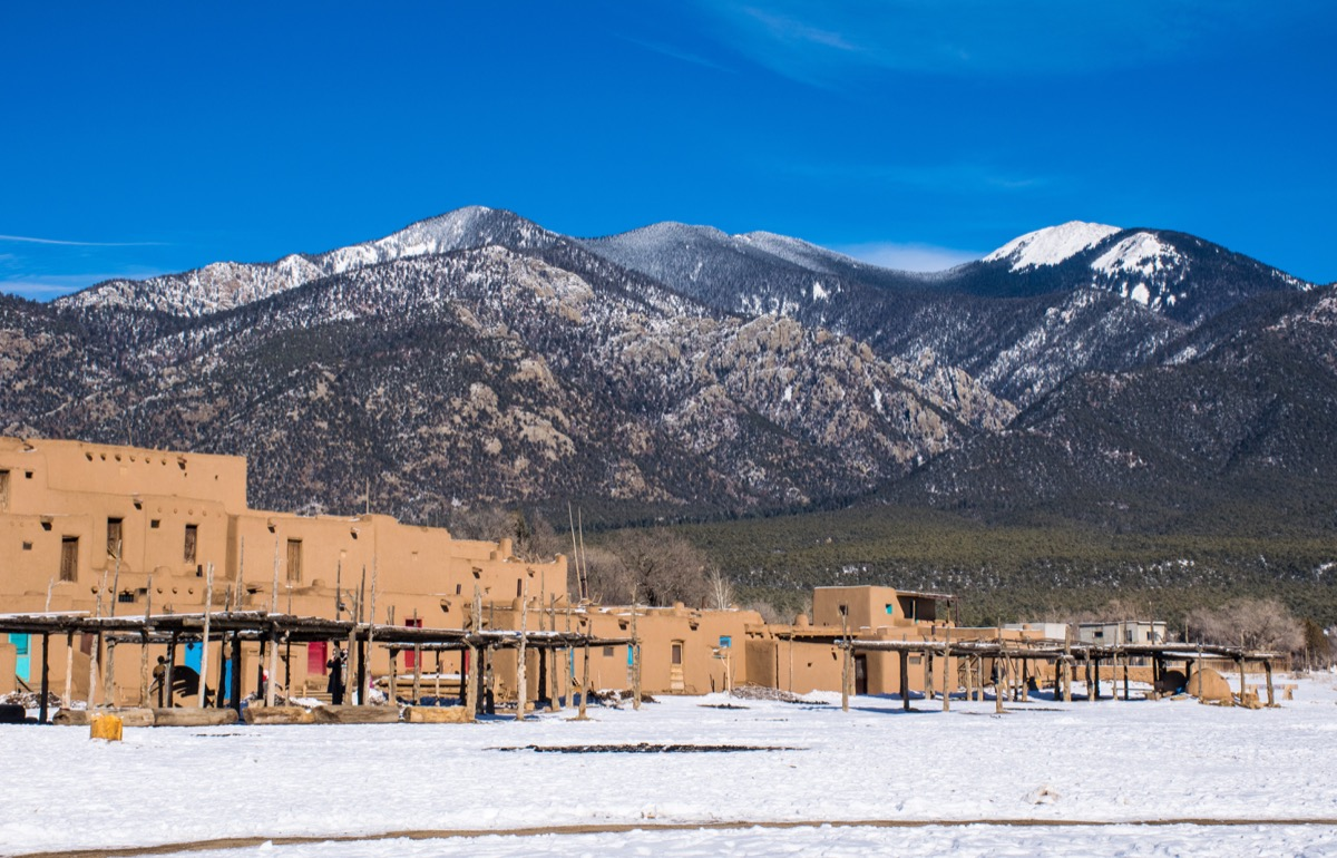 Taos, New Mexico Romantic Christmas Towns
