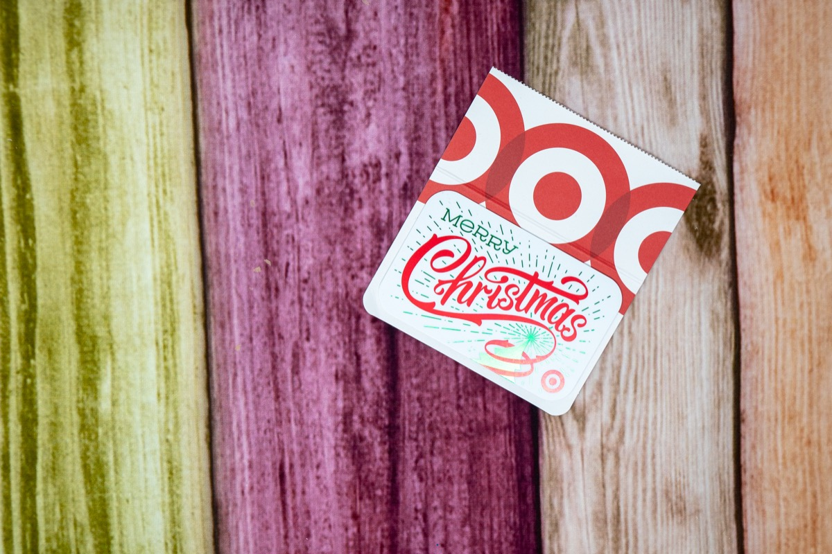 Holiday Target Gift Card {Target Black Friday}
