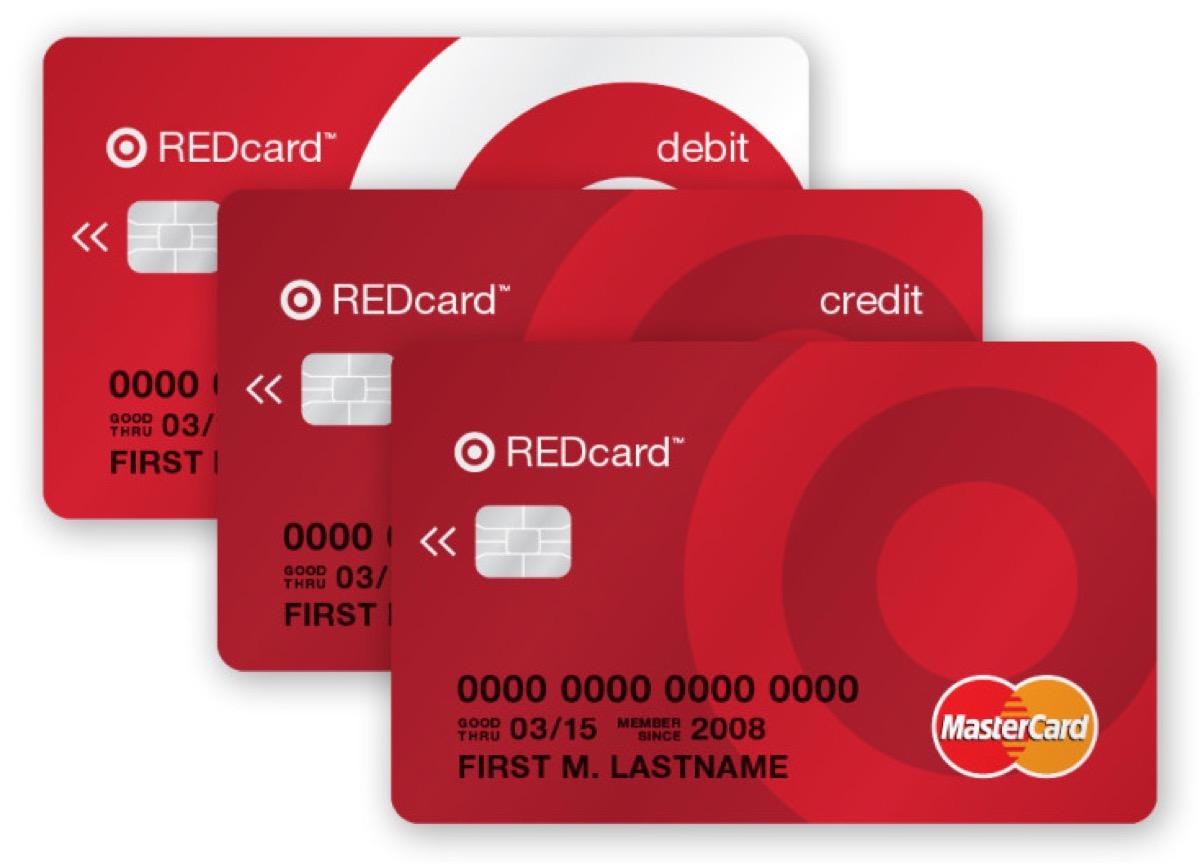 Target REDcard {Target Black Friday}