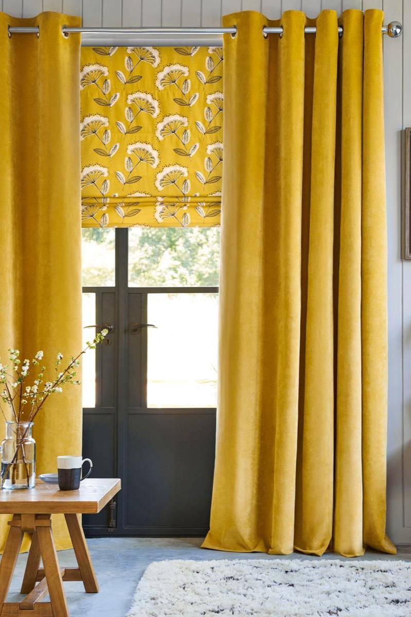 Window Drapes celebrity home design tricks