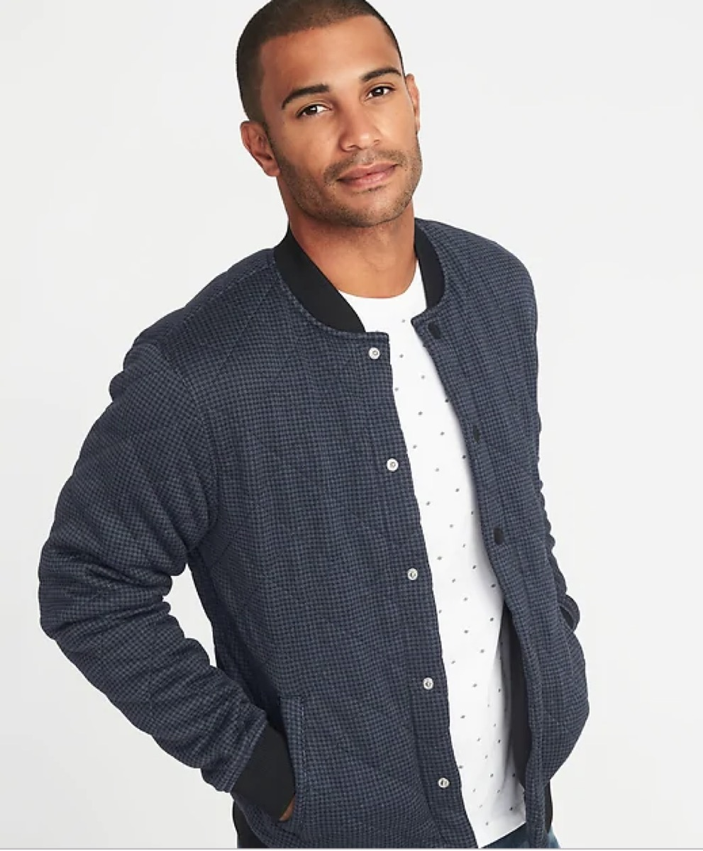 Old Navy Bomber Jacket buy after holidays