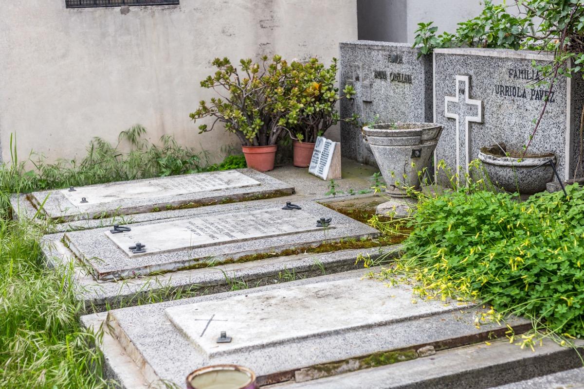 Graveyard in Santiago, Chile