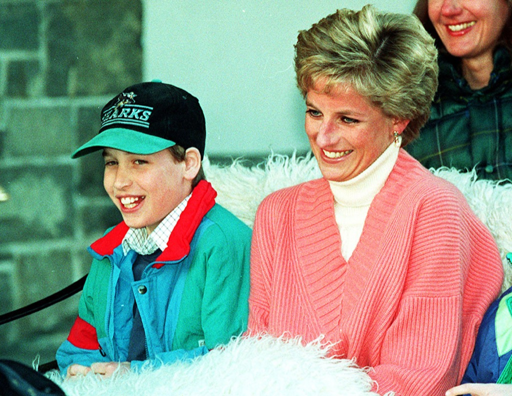 Young prince william and princess diana, surprising facts about prince william
