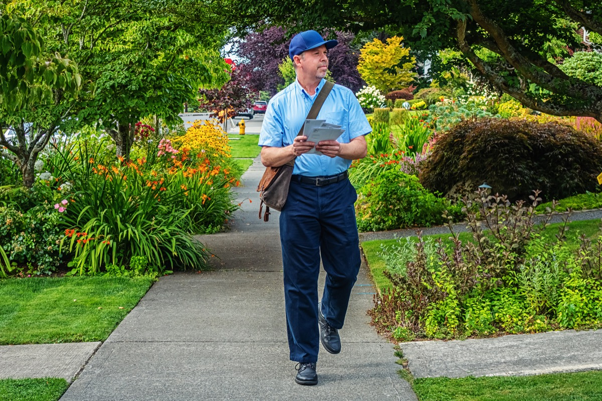 Mailman in warm climate