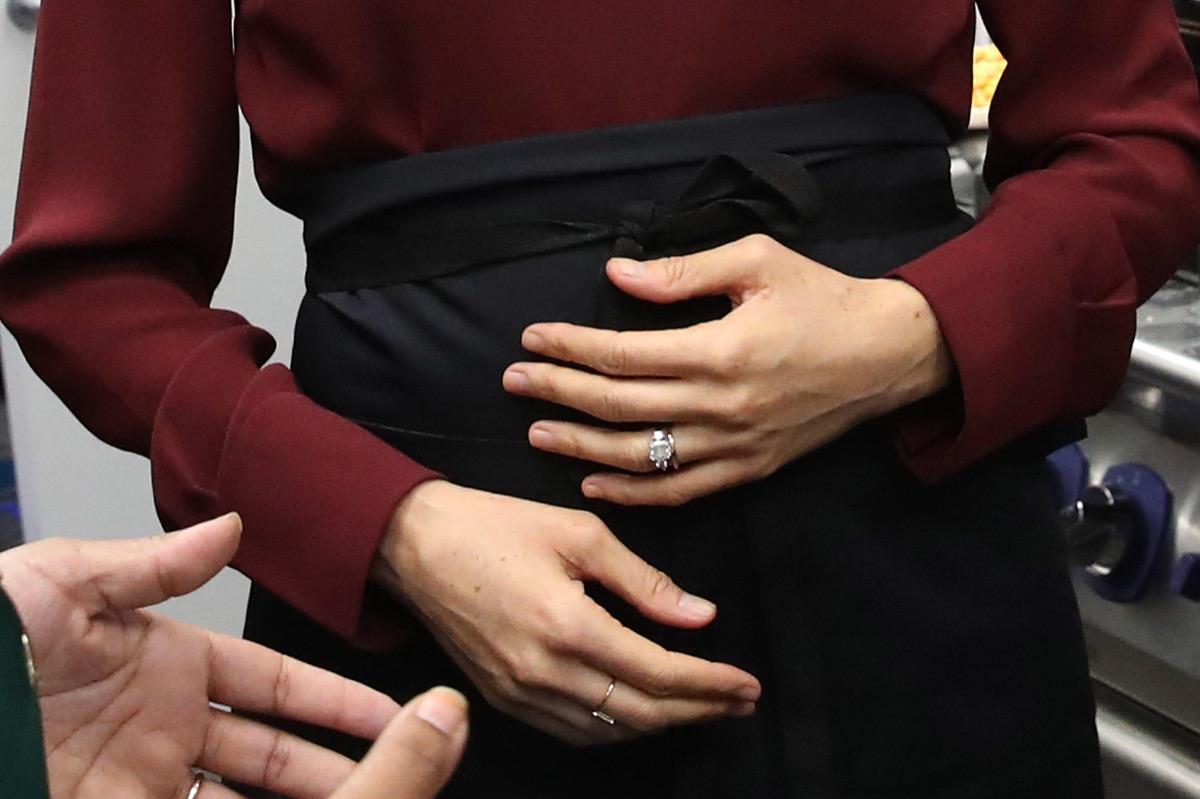 Meghan Markle's Baby Bump