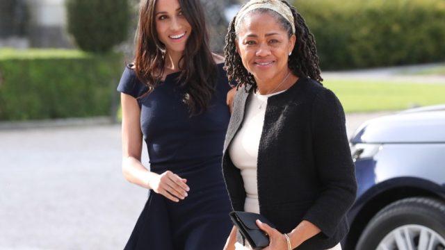 Meghan Markle and her mom, Doria Ragland